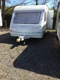 2 berth Sterling Sprite 1996 model caravan for sale