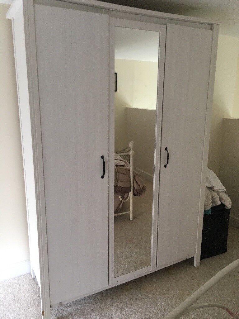 SOLD White triple Ikea wardrobe | in Gildersome, West