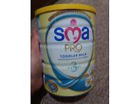 SMA toddler milk