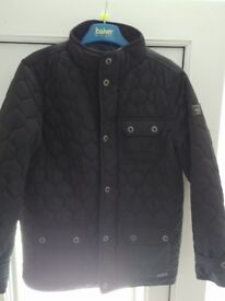 Boys Quilted Firetrap Jacket 9/10 As New