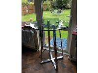 high table glass