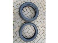 Pair Dunlop sportmax gpr300 tyres. 180 55 17 ZR/120 70 17 ZR1000 miles on them