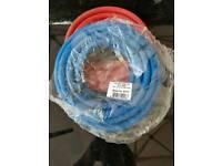 Welding hose set blue/red