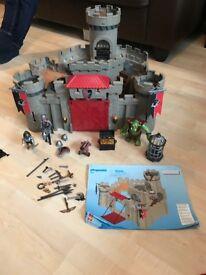Playmobil hawks knight castle