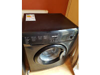 Bush 7kg black washing machine