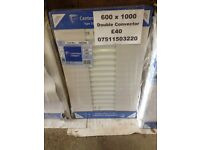 CENTRAL HEATING RADIATOR CENTERRAD Double Convector 600 mm high x 1000 mm long