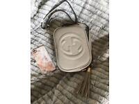 Gucci soho disco bag grey