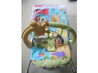 Fisher-Price Playtime Bouncer pre-owned and in excellent condition