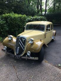 1949 Citroen Traction Avant