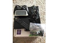Xbox 360 Slim (250GB HDD) with accessories and 40 games