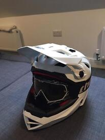 THH helmet downhill / Jetski brand new unused c/w used Thor goggles