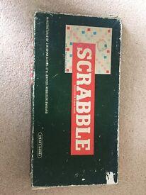 Vintage Scrabble Tiles & Board