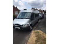 FORD TRANSIT LWB HI TOP GOOD CAMPER VAN CONVERSION OLD MINIBUS 33K IMMACULATE CONDITION FOR AGE
