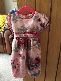 Monsoon dress aged 6-12 months