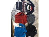 Boys age 4-5 woolly jumpers sweaters