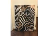 Zebra Wall Canvas from Next