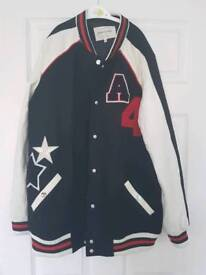 River Island ladies baseball jacket size 14