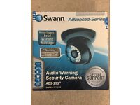 Swann Advanced-Series ADS-191 Audio Warning Security CCTV Camera (Black)