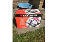 Black and Decker Saw CD601 in box