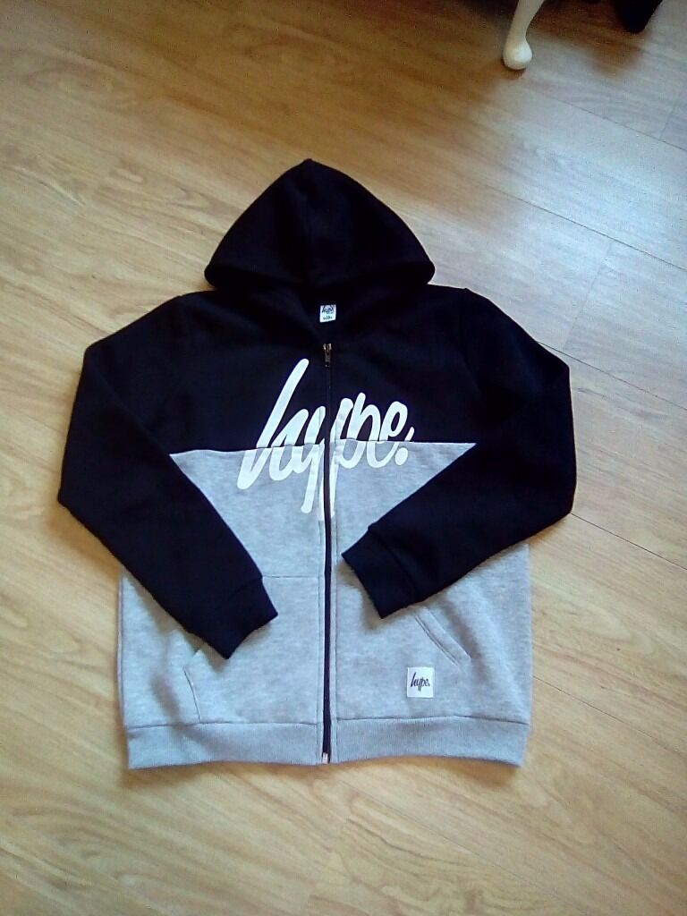 Two Brand New Junior Boys Hype Hoodie/Jackets