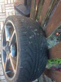 "18"" Kosei alloy wheels"