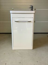 Slimline Vanity Unit with Sink and Tap