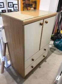 Chest of drawers and/or cabinet and drawers