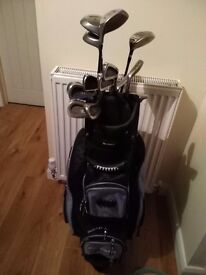MacGregor ladies golf clubs. Including Ping putter.