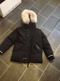 """""""NEW BOYS CANADIAN GOOSE JACKET AGE 5-7 YRS (NEVER WORN) was xmas gift too small"""