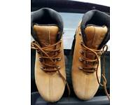 Timberland safety boots size 5