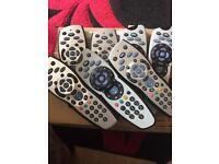 Sky remotes