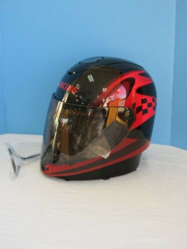 Coffee Maker Red Racing Helmet MIB..Red, Black Checkered