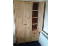 Pine Wardrobe for sale in Putney - Great quality - Please Arrange Pickup