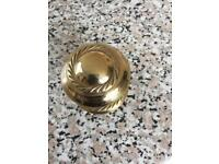 "11 x 2"" GEORGIAN BRASS KNOBS"
