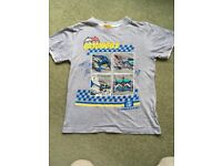Batman Batmobile, haynes style T-shirt age 9