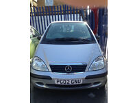 mercedes Aclass 1.4 Manual requies clutch low mileage 57kmiles log book present cheap to insure
