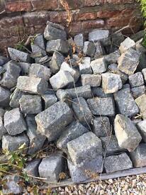 Granite decorative garden bricks approx 200