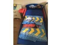 Disney Car Toddlers Bed for Sale - 3 years Old. Bought for £100 looking for £40. Good condition