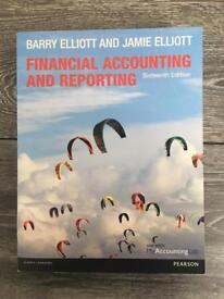 Financial Accounting and Reporting by Elliott and Elliott