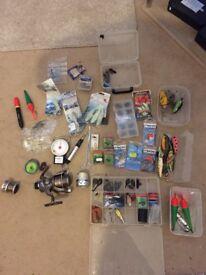 Job lot of fishing bits