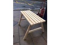 Garden table new. £40