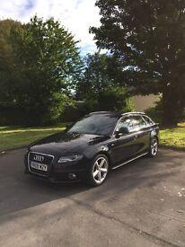 Audi a4 2.0 tdi estate sline 170 bhp avant