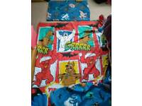 Scooby Doo single duvet cover and pillowcase