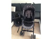 Silvercross pram with all accessories and Iso fix worth over £800 when purchased