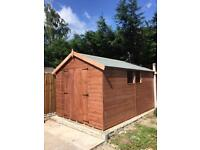 Sheds for sale, 12x8 Apex