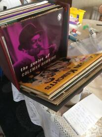 Vinyl lp collection of jazz and big band