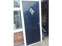 Blue Cottage composite door good condition