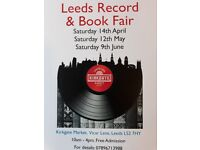 Leeds Record & Book Fair, Saturday 9th June