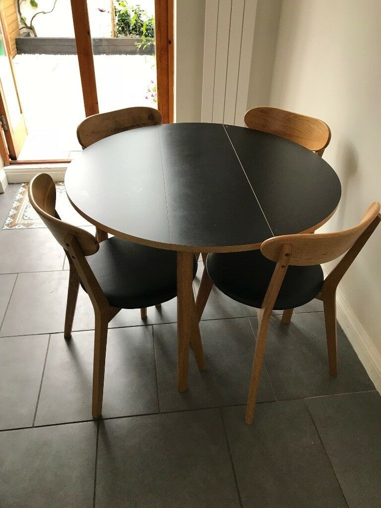 Habitat Sophie Dining Chairs X2 And Suki Table 200