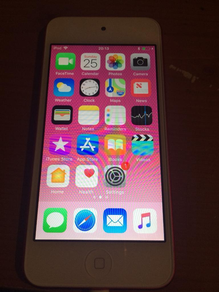 Ipod Touch Pink 32gb A1574 6th Generation In Antrim Road Belfast Apple 6 64gb